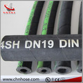 flexible rubber EN856 4SP/4SH standard hydraulic hose
