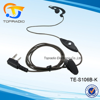 Topradio New Arrival 2 Way Radio 2 Pin Earpiece For Quansheng: TG-K4AT TG-2AT TG-45AT TG-42AT TG-22AT TG-25AT TG-UV TG-UV2
