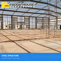 t steel structure fabricated metal roof warehouse large light steel structure premade warehouse