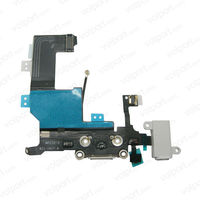 Headphone Audio Jack USB Charge Data Dock Port Flex Cable for iPhone 5G