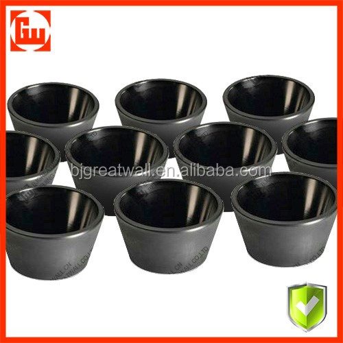 New model metal melting graphite crucible