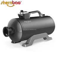 Shernbao DHD-2400T Super Blaster Dual Motor professional pet salon use dog blow dryer