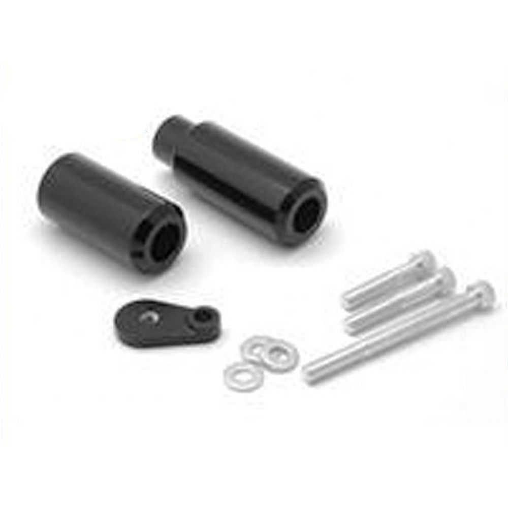 FFSKA007 For ZX 6R ZX6R ZX 6RR ZX6RR 636 2005 2006 No Cut Frame Sliders Black