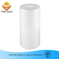 pure water business petrochemical melt blown filter cartridge with elastomeric bitumen membrane