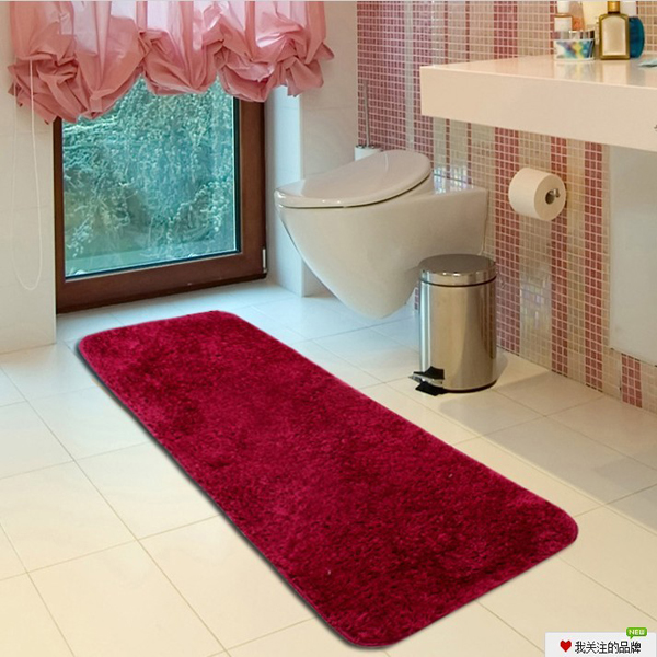 anti slip polyester washable shaggy floor carpet