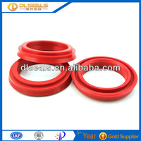 Plastic parts silicone rubber rod and piston seals