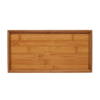 simple design wooden tray kitchen