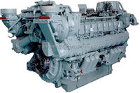 MTU marine diesel engine 396 and 956 series for marine, industry and locomotive