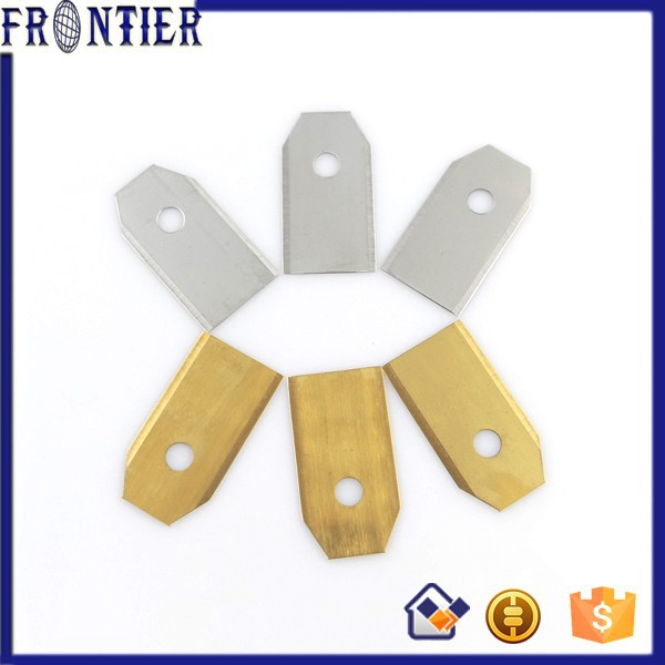 Garden use mower parts carbon steel blade for mower