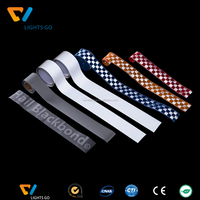 pvc reflective tape for safety clothing / reflect belt for safety