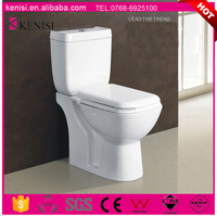 High Quality Hot Selling Washdown Ceramic WC Two Piece Toilet/Water Closet