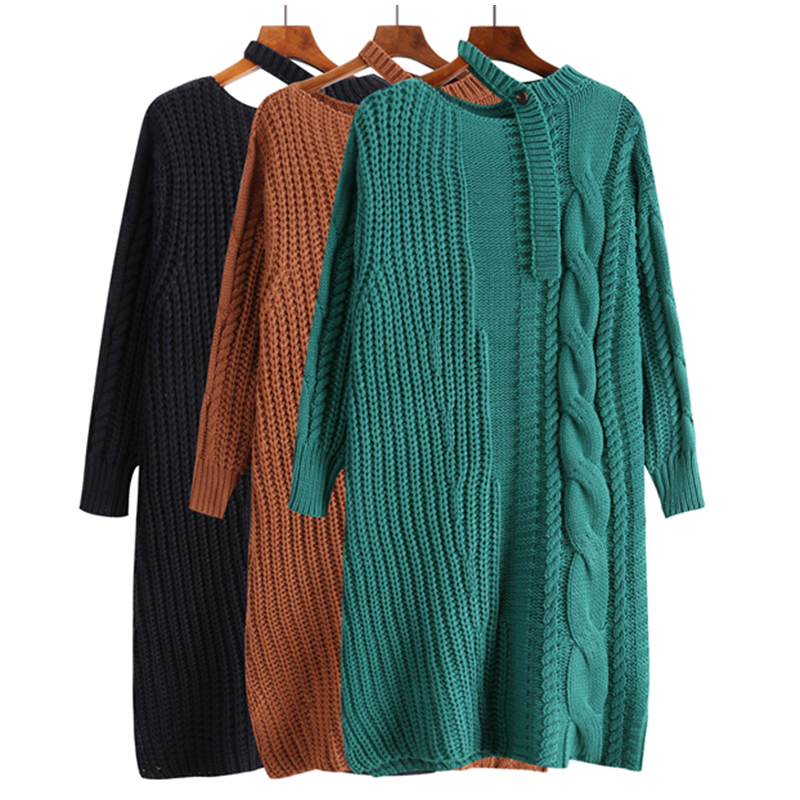 2019 fashion knitted winter woman sweater