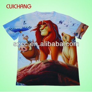 Marvel cartoon super hero t-shirt&cartoon character printed t-shirt&wholesale cartoon t-shirt cc-530