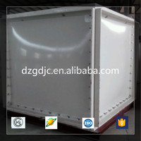 Environmental molded fiberglass tanks combination