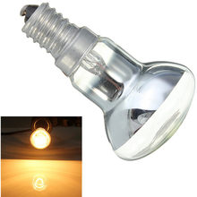Light Bulb Edison Bulb E14 SES 30W R39 Clear Reflector Spot Light Bulbs Lava Lamp Incandescent Filament Lamp Lighting 220V
