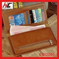 cash on delivery from china top brand leather wallets gfashion business handbags money clip with trifold card