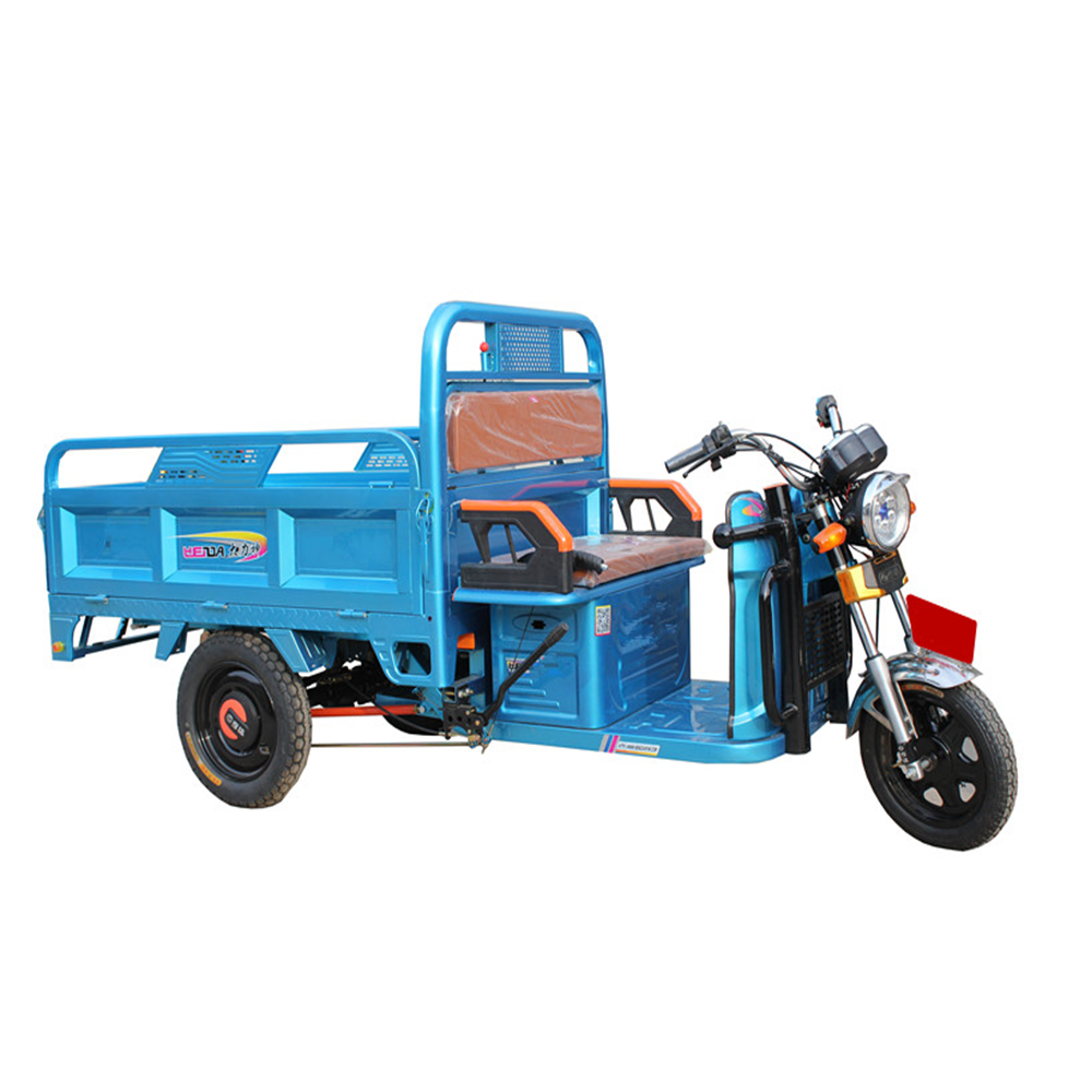three wheel covered large cargo motorcycle made in china for sale