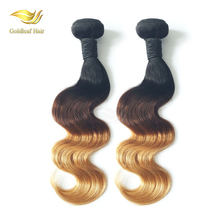 full cuticle remy brazilian honey blonde hair extensions,sexy ombre virgin brazilian hair