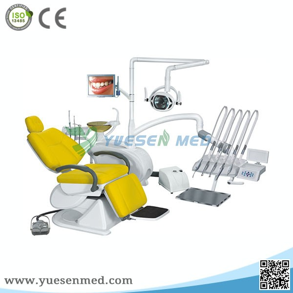 Yuesenmed high quality low price LED light dental chair dental unit