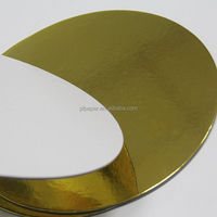 golden paper tray wholesale cake board