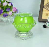 china lamp making supplies Meijuya Wholesale glass electric fragrance lamps oil warmer