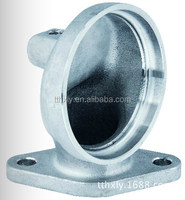 Precision stainless steel attachment flange casting parts for engine oil cooler