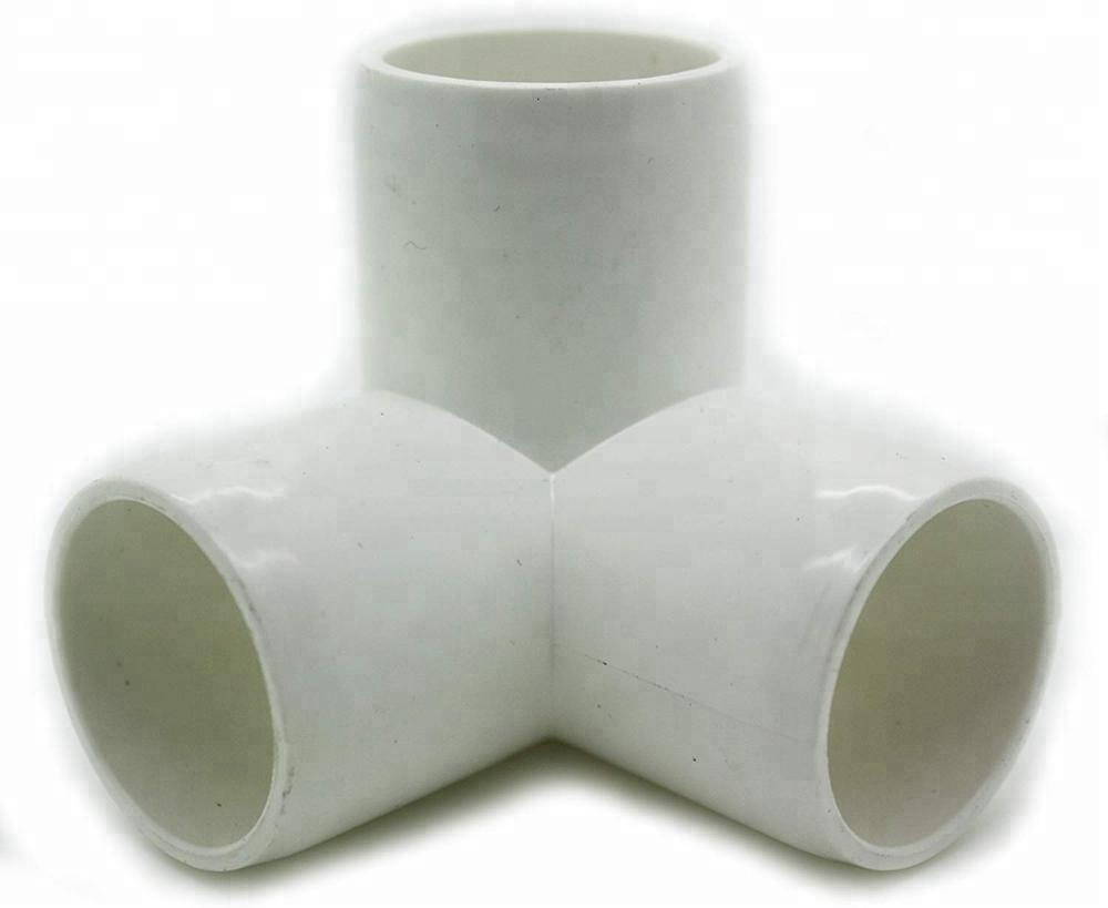 ASTM SCH40 PVC 3 Way Elbow <strong>Fitting</strong> for water supply and furniture