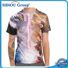Wholesale Custom All Over Digital Dye Sublimation T-shirt Printing