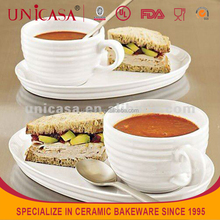 UNICASA Ceramic Cup And Saucer,Espresso Cups Saucers,Coffee Cup