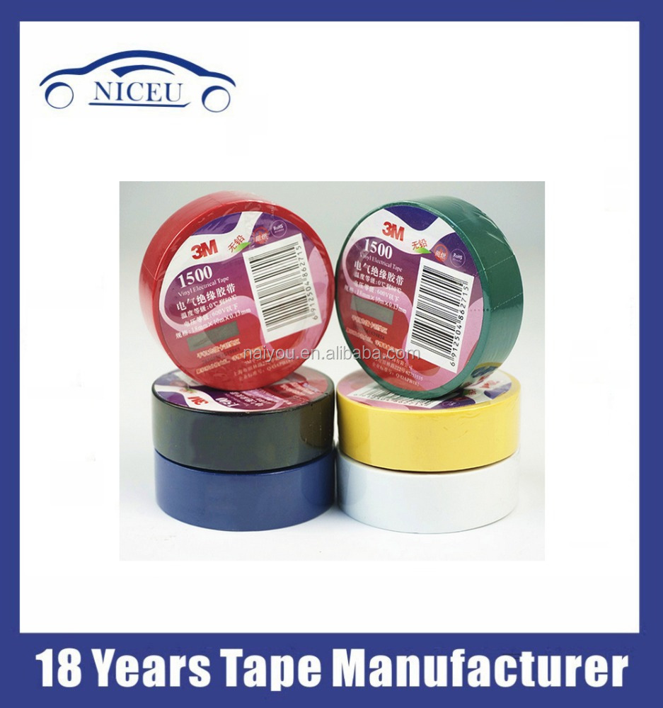 vinyl electrical tape 3M Temflex 1500 electrical tape