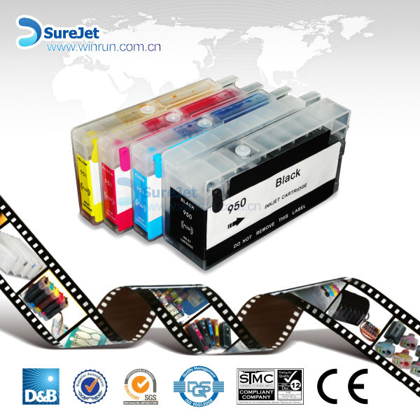 Factory direct price refill 932 933 ink cartridge for HP pro 6600