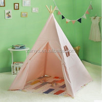 2016 Best Prices New design OEM kids play indian teepee tent