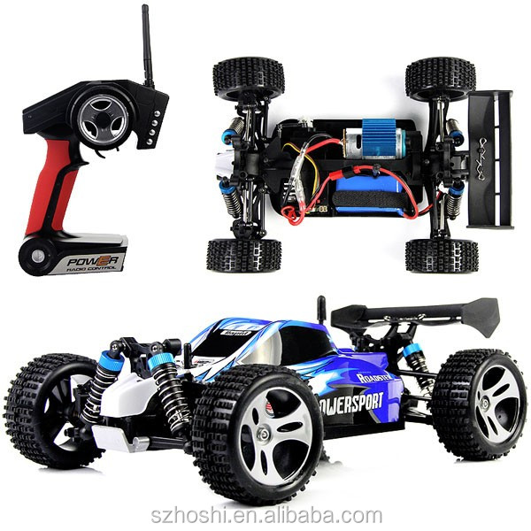 WLtoys A959 2.4G 1/18 Scale RC Cars Trucks Off-road RC Racing Car RC Mini Car RTR High Speed Stunt SUV Toy
