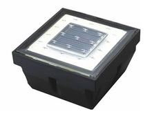 Europe Hotsale Square IP65 LED Solar Inground light for Garden