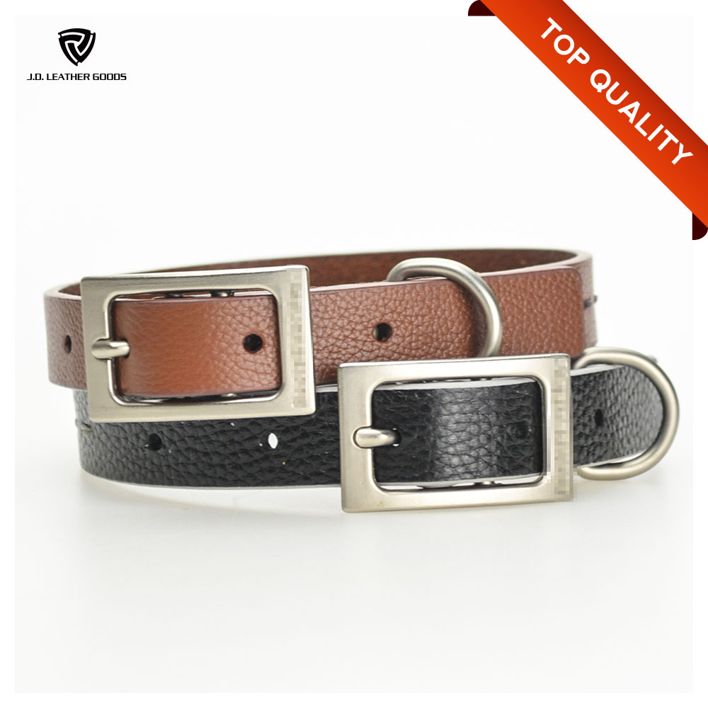 Eco-Friendly Genuine Leather Wholesale Pet Collar/Collar Dog/Dog Collar Pet