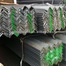 standard size types of hot rolled jis ss400 mild steel angle bar