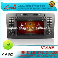 special Mercedes Benz ML450 car media player with GPS, canbus, steer wheel control+wholesale+factory+hot selling