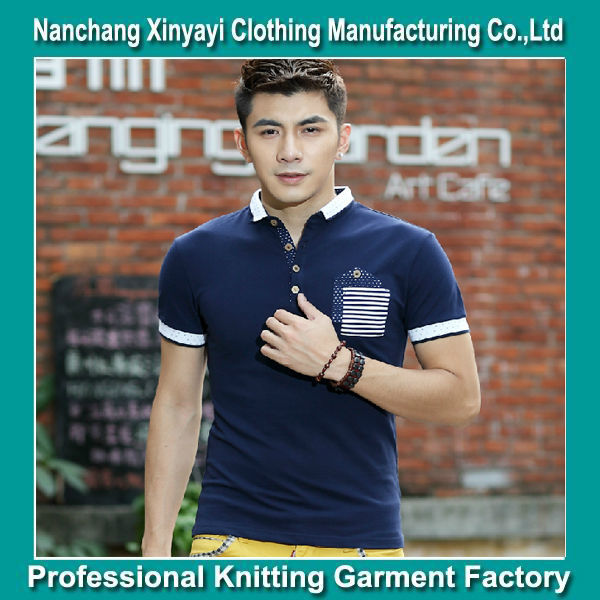 Hot Selling Mens 100% Cotton T-shirt Polo Wear Most Popular Products Customize Polo Modern Style