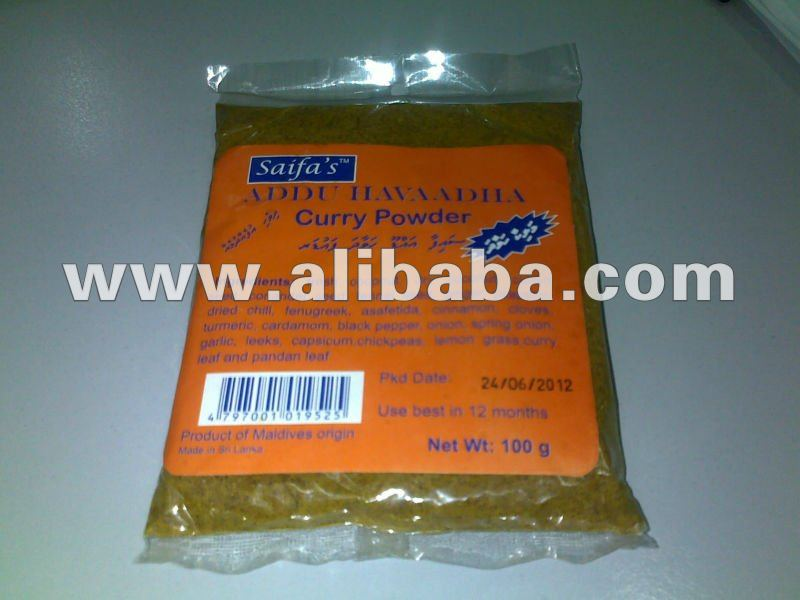 Saifa's Curry Powder 100g