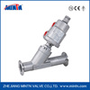 K3 Pneumatic Stainless Steel Clamp Connection Angle Seat Valve With Stainless Steel Actuator