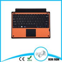 Ultra thin aluminium alloy bluetooth keyboard for wireless keyboard
