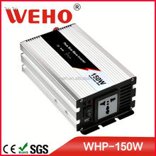 1pcs MOQ 150w dc 12v to ac 110v pure sine wave luminous inverter price