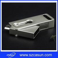2016 Fashion Mobile phone OTG usb flash drive with high speed flash