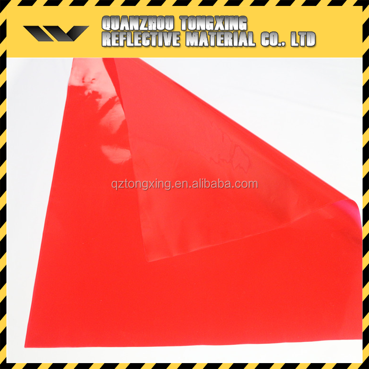 Sun Reflective Material Road Traffic Signs Clear Pvc Sheet