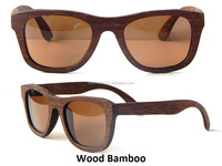 Wood Fashion UV400 high quaity polarized wooden goggles