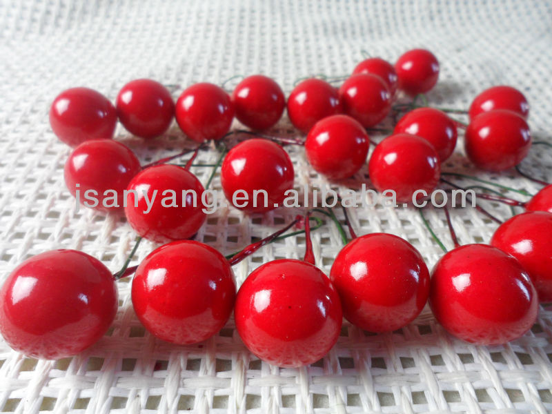 promotional artificial Red round berries