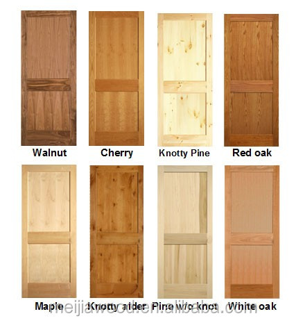 Wood Grain Options