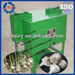 Factory supply Fresh garlic root cutting machine/garlic cutting machine with low price 0086-18703616536