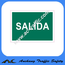 Luminous Fire Exit Safety Sign AC7574