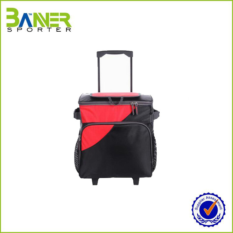 Trolley bags luggage cover/folding shopping trolley bag with 2 wheels